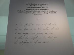 Mission de Los Nombre de Dios St. Augustine, Florida