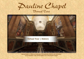 Pauline Chapel Virtual Tour