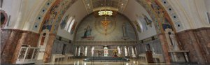 Inside the Basilica & National Shrine of Elizabeth Seton