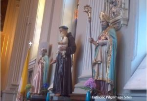 Assumption Catholic Church Saint Statues