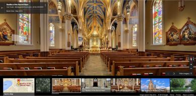 Basilica of the Sacred Heart University of Notre Dame Virtual Tour Catholic Pilgrimage Sites