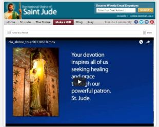Claretian Shrine of St. Jude Virtual Tour