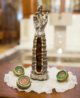 Dominian Shrine of St Jude Arm Relic