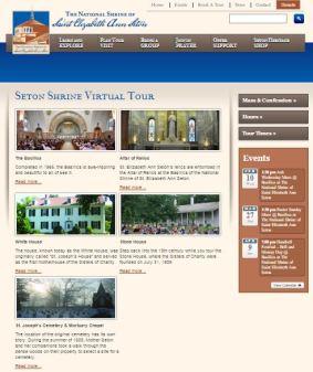 National Shrine of Elizabeth Seton Virtual Tour