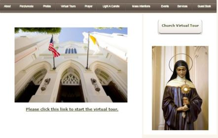 National Shrine of St Francis of Assisi San Francisco CA Virtual Tour Catholic Pilgrimage Sites