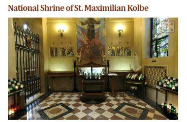 National Shrine of St. Maximilan Kolbe Libertyville IL Virtual Tour