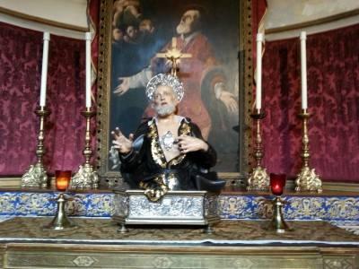 philip neri reliquary