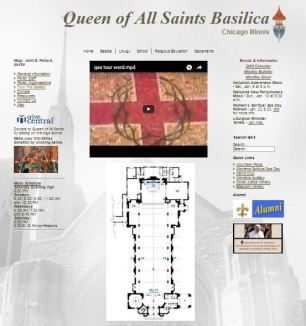 Queen of All Saints Basilica Virtual Tour
