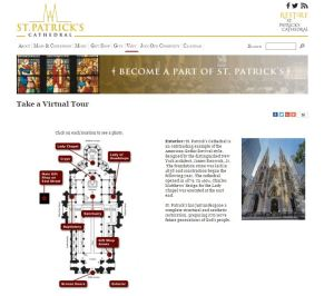 St. Patricks Cathedral Virtual Tour