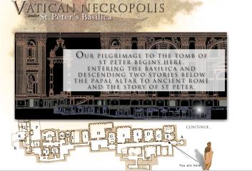 Tomb Of St Peter Virtual Tour