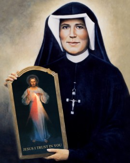 First Class Relics of St. Faustina on Tour in Archdioces of New York April 2016
