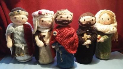 Oremus Crocheted Saints