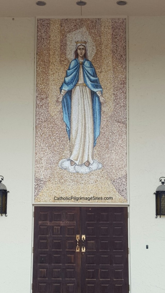 Our Lady Queen of Martyrs in Sarasota Florida Catholic Pilgrimage SItes
