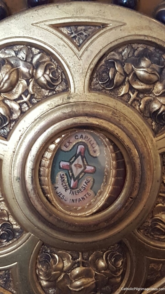 Relic of St Therese Hair National Shrine of St Therese Darien Illinois Catholic Pilgrimage Sites